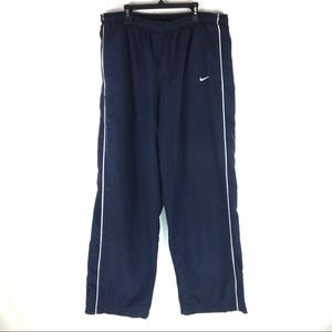Vintage Nike Track Pants Mens Size XL Blue swoosh